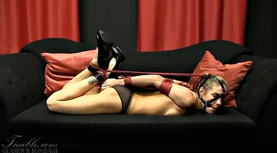 Gagging, Hogtied