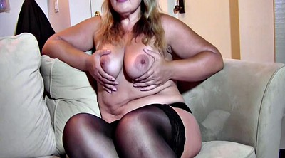Interview, Russian milf, Milf casting