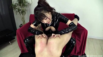 Latex, Rimjob, Japanese handjob, Japanese latex