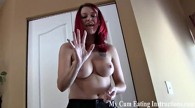 Punishment, Caught jerking, Caught jerking off, Femdom bdsm