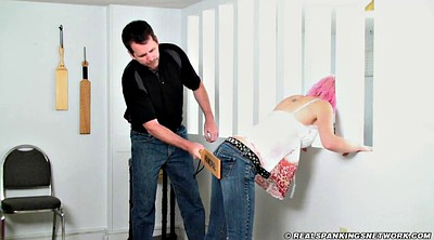 Spanked, Paddle, Paddled