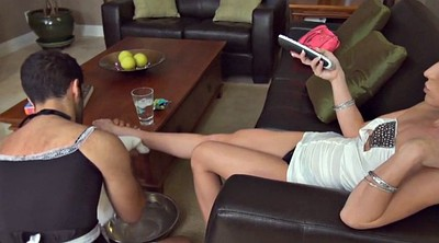 Teen foot, Mistress slave, Foot slave, Face