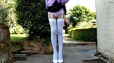 Cosplay, White stocking