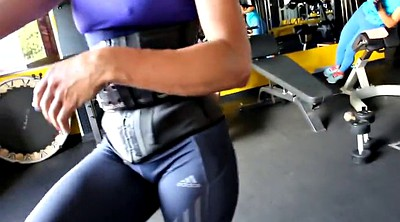 Cameltoe, Gym ass, Fitness