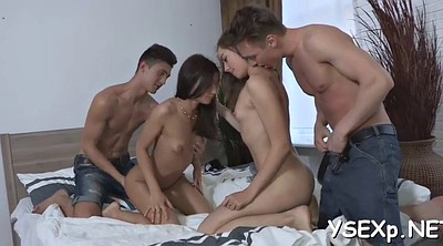 Russian party, Teen orgasm