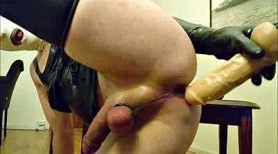 Enema, Water, Latex masturbation