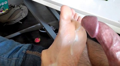 Footjob, Bbw foot, Wife foot