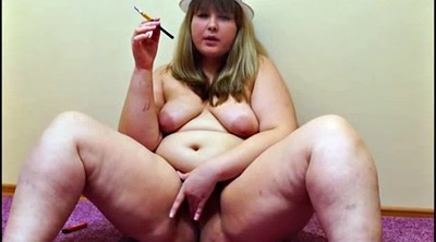 Smoking, Music, Russian bbw, Bbw russian