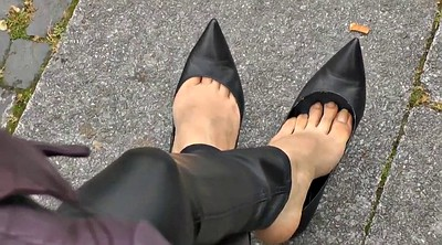 Shoe, Heels, Shoes, Leather fetish
