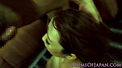 Japanese gangbang, Japanese threesome, Asian milf, Japanese blowjob