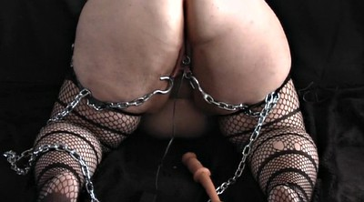 Milf dildo, Hang, Chained