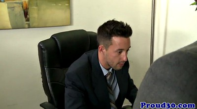 Gay office, Mature gay