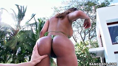 Big ass solo, Ass solo, Colombian, Solo outdoor