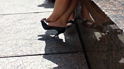High heels, Candid, High, High-heeled shoes