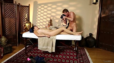 Father, Asian massage, Asian young