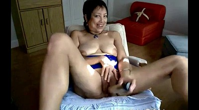 Asian granny, Granny asian, Mature masturbation webcam