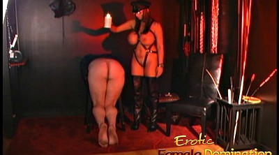 Femdom spank, Dungeon, Pussy lick