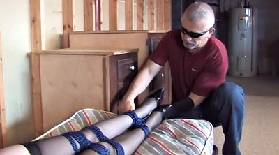 Rope, Short haired mature, Mature bdsm, Huge tits mature