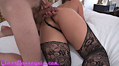 Casting, Mature anal, Anal threesome