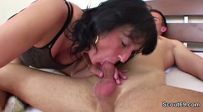 Old man, Mom blowjob