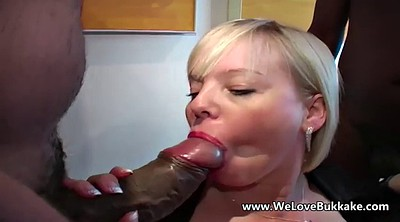 Gangbang, Mature interracial