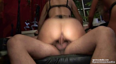 Mouth creampie