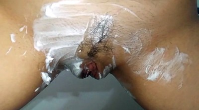 Shave hairy pussy, Hairy amateur