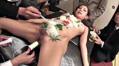 Group, Japanese girl, Japanese foot, Sushi