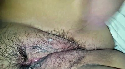 Red pussy, Red hairy, Hairy big clit