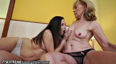 Grannies, Mature young, Lesbian face sitting, Fresh pussy