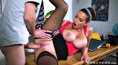 Teacher, Sensual jane, Big boobs, Romanian, Classroom