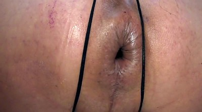 Gaping pussy, Tied toyed, Jan