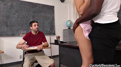 Teacher, Interracial anal, Black teacher