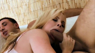 Act, Anal threesome, Big tits threesome, Anal penetration
