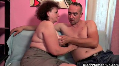 Mature couple, Old couple, Mature orgasm, Old & young