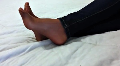 Foot, Pantyhose, Nylon pantyhose