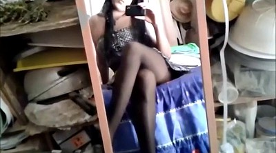 Crossdresser, Pantyhose teen