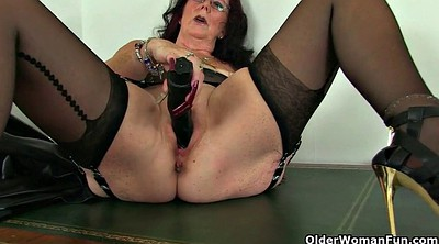 Office, Peeing, Granny squirt, Pussy juice, Juice, Squirt mature