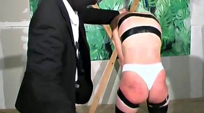 Spanking, Tied, Mask, Mature bondage