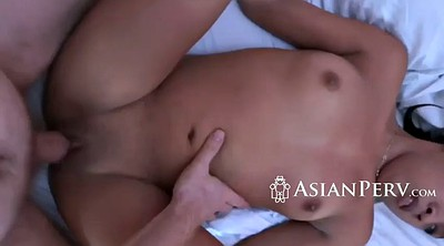 Shower, Asian threesome