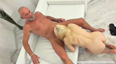 Old man, Granny cumshot
