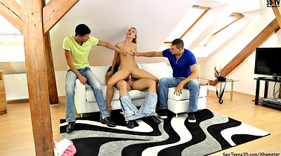 Teen gangbang, Behind the scenes, Backstage