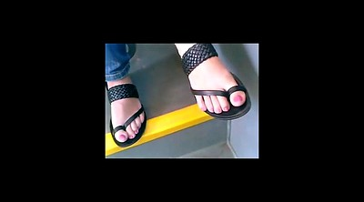 Foot fetish, Candid, Toes, Feet fetish, Candid feet, Sandals