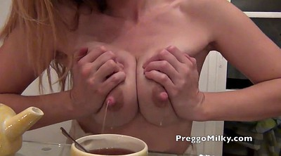 Milk, Milking, Breast milk, Lactating, Lactation, Pregnant squirt