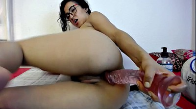 Double pussy, Anal solo, Skype, Solo ass