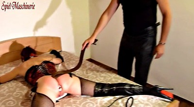Whipping, Whipped, Spreading, Anal plug