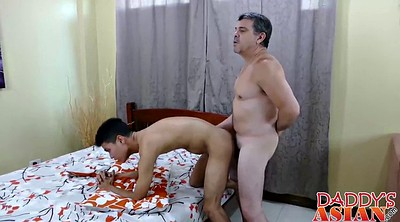 Asian daddy, Asian ass