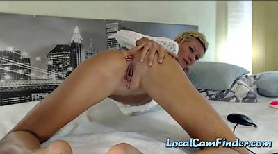 Amateur anal, Show, Anal solo