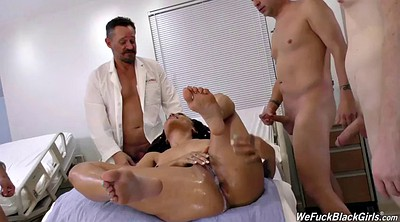 Ebony blowjob, Clinic