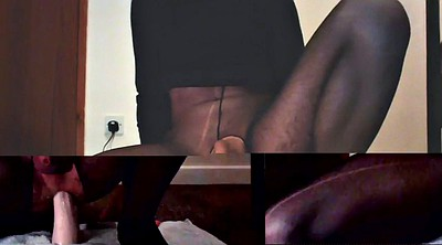 Anal stocking, Stockings solo, Stockings anal